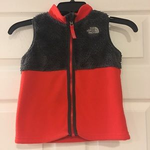 The North Face boys vest